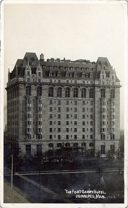 Fort Garry Hotel Booking Room