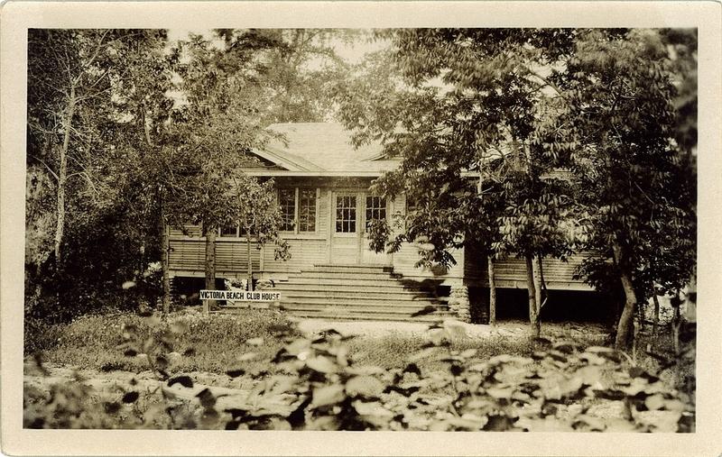 Postcard 1648 Victoria Beach Club House After 1920