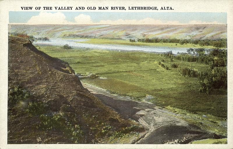 fishing old man river lethbridge