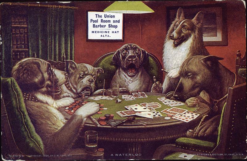 Poker Room Paintings