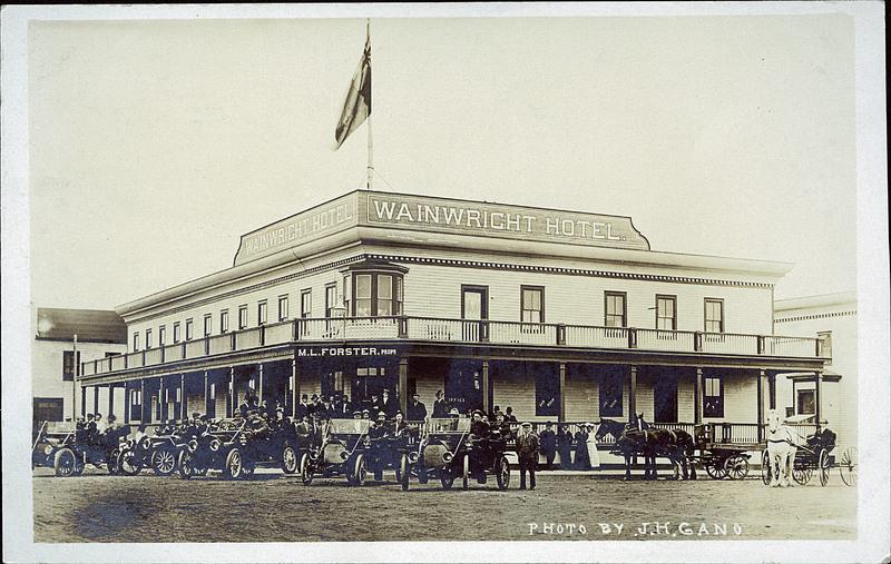 Wainwright Hotel Heritage Park Wedding