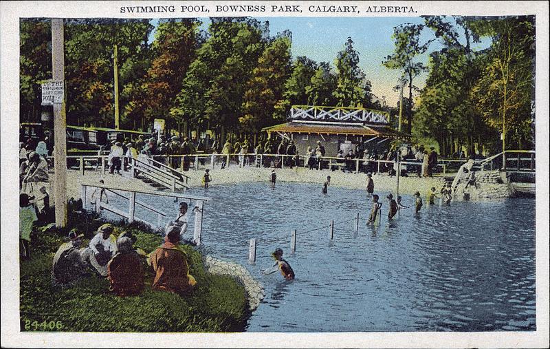 Postcard 5865 the valentine edy co ltd swimming pool - University of alberta swimming pool ...