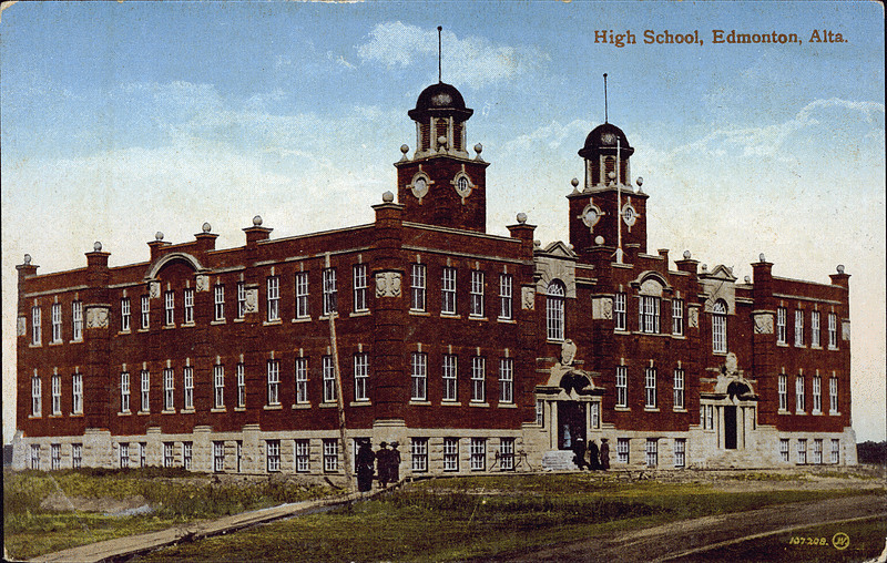 Postcard 6474 The Valentine Sons Publishing Co High School