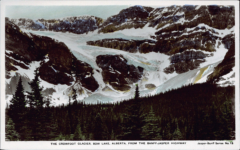 Lantern Press Alberta Columbia Icefield Jasper Parkway Canada Canadian Rockies Glacier Tram Scene Pen Pal Snail Mail Authentic Postcard NEW