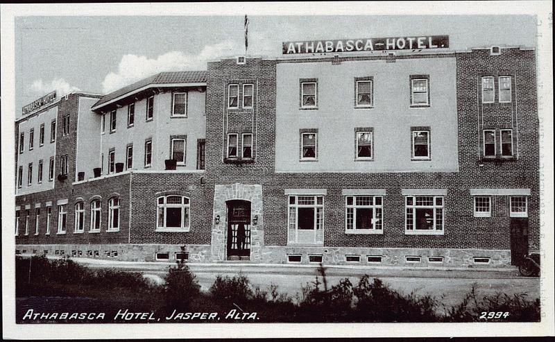 Athabasca Hotel Jasper Canada