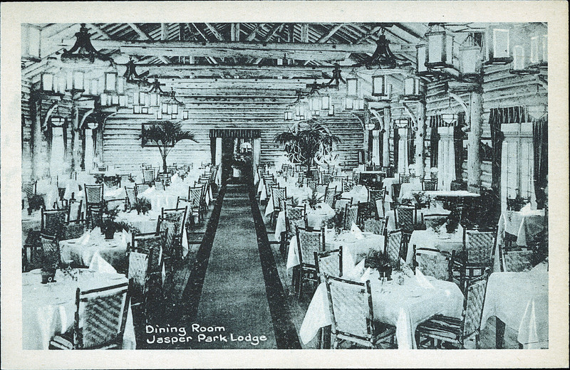 Postcard 8073 photogelatine engraving co dining room for Decore hotel jasper