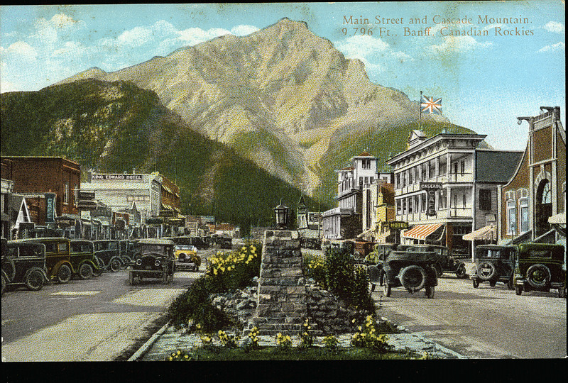 Postcard 9997 Coast Publishing Co Main Street And