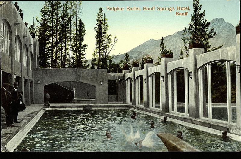 Postcard 10055 the valentine sons publishing co ltd - University of alberta swimming pool ...