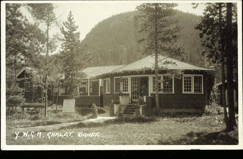 Postcard 10969 Harmon Byron Y W C A Chalet Banff C1932