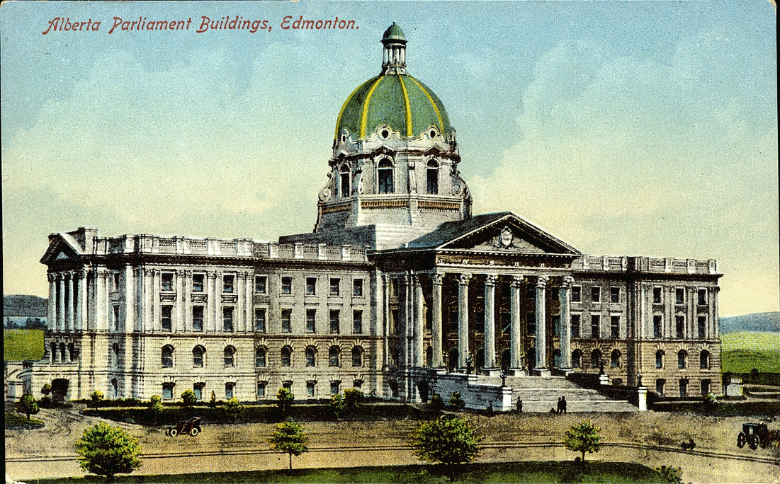 Postcard 13536: Stedman Bros. Limited, Alberta Parliament ...