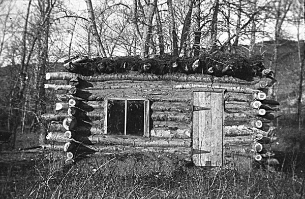Peel University Of Lethbridge Small Log Cabin With A
